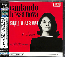 VI VELASCO - ZOOT SIMS-CANTANDO BOSSA NOVA-JAPAN SHM-CD C15