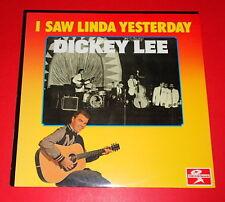 Dickie Lee-I saw Linda YESTERDAY -- LP/Rock 'n' roll