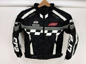 CASTLE X RACING CR2 Snowmobile Jacket Youth Girls Small Black