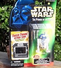 1997 Hasbro Star Wars Power of the Force R2-D2 Spring Loaded Scanner Craasp  MOC