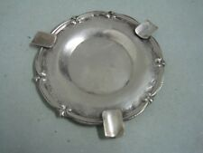 Antique silver ashtray