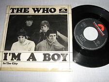THE WHO 45 TOURS GERMANY I'M A BOY