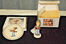 Vintage Goebel/Hummel: Serenade - 1985 Mini Collector Plate & Figurine - S3516
