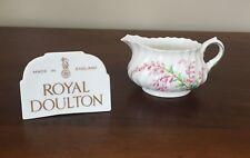Royal Doulton BELL HEATHER SCALLOPED 6 oz Creamer