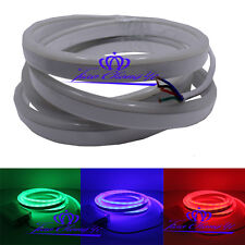 1M 80LED/M RGB SMD 5050 Flex soft led neon rope strip bar light DC12V new