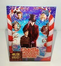 CHARLIE AND THE CHOCOLATE FACTORY Blu-ray STEELBOOK [HDZETA] LENTICULAR #30/500