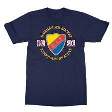 Djurgårdens IF SHL Stockholm Sweden Professional Hockey Men's T-Shirt