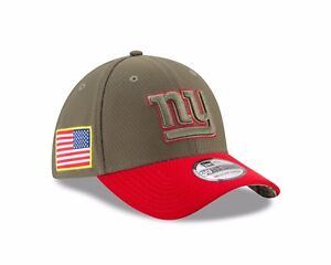 New York Giants New Era  Salute To Service 39THIRTY Flex Hat – Olive
