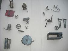 Motor de vapor vivo Estacionario Antiguo Vintage Bowman Marklin Dol Tablón De Caldera De Juguete