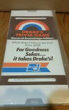 Vintage Drakes Trivia Game 1984 Edition Kelton Industries