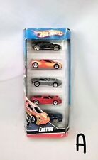 Hot Wheels Exotics Gift Pack K6180-0790 5 Car Pack NIP