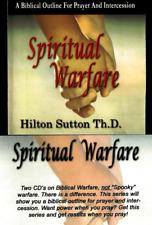 Spiritual Warfare - 2 Cds - Hilton Sutton - Rare !