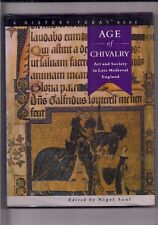 AGE OF CHIVALRY-art and society in late medieval england-edited by NIGEL SAUL.