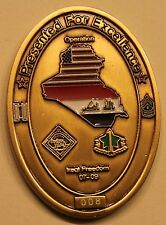 4th Infantry Division HHC Support BN Heat Seekers ser#008 Army Challenge Coin