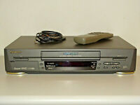 Panasonic NV-HS820 High-End S-VHS ET Videorecorder inkl. FB, 2 Jahre Garantie