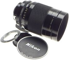 USED NIKON REFLEX-NIKKOR C 1:8 f=500mm MIRROR AI CAMERA LENS SLR 35mm HOOD CAPS