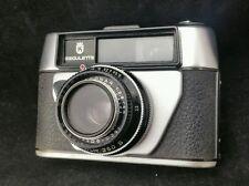 """Vintage Camera """"Regulette"""" with Proctor 250S  Lens + Leather Case & Strap"""
