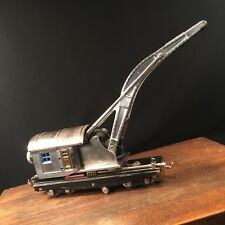 Vintage Lionel Train No 810 Crane Car Pre-War Chrome Plated Priority Mail
