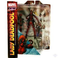 Marvel Select Lady Deadpool Special Collector Edition Action Figure Diamond