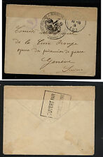 France  POW  cover  WW1  cover  to  Switzerland  1915           KL0419