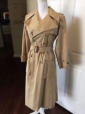 YVES SAINT LAURENT Gorgeous Vintage Classic Trench Coat- XS