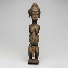 DJ2 Baule Figur Asie Usu Blolo Bla weiblich / Statuette baoule / Baule Figure