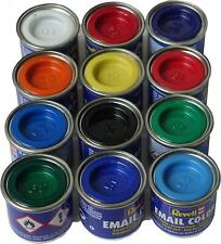 REVELL® ENAMEL GLOSS / MATT PAINT TINS CANS 14ml - FOR MODEL KITS / MODELLING