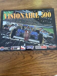 1997 Visionaire 500 At Charlotte Motor Speedway Indycar Racing Program