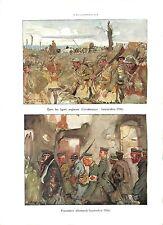 WWI La Somme Tommies British Army Contalmaison Prisoners Feldgrau ILLUSTRATION