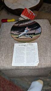 Joe DiMaggio The Streak New York Yankees Bradford Exchange Plate
