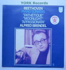 R-11242- BEETHOVEN - Piano Sonatas 8 14 & 23 ALFRED BRENDEL - Ex Con LP Record
