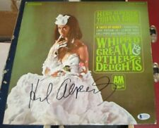 Herb Alpert Trumpeter Signed 1965 Whipped Cream & Other Delights Album Bas