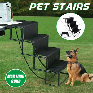 Lightweight Foldable Folding Outdoor Pet Dog Car Boot Acces Steps Ladder Stairs