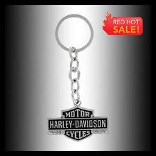 HARLEY-DAVIDSON VINTAGE BAR & SHIELD KEY CHAIN FOB