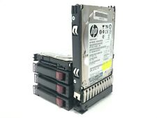 "Job Lot 5x 2.5"" HP EG0900FBLSK 900GB 10K SAS Hard Drives With Caddies"