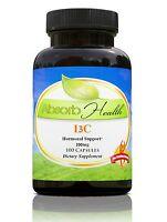 I3C Indole-3-Carbinol | 200mg | 100 Capsules | Healthy Hormone Support