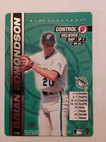 2000 MLB Showdown 1st Edition BRIAN EDMONDSON #177 Florida Marlins Baseball Card