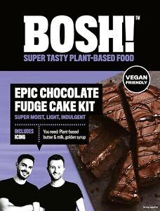 CHOCOLATE FUDGE CAKE KIT 635G - VEGAN FRIENDLY