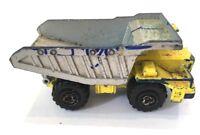 Vintage Old Diecast Majorette Benne Carriere 1/100 Dump Truck Vehicle 274 France