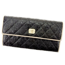 Auth CHANEL purse COCO Mark unisexused T1638