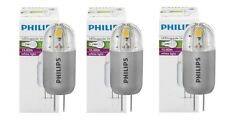 Lot 3 ampoules PHILIPS LED capsule LV - G4 - 1,2w = 10w 3000k NEUVES