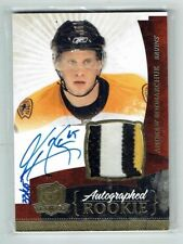 10-11 UD The Cup  Andrew Bodnarchuk  /65  Gold Spectrum  Auto  Patch  Rookie