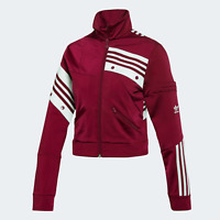 adidas Originals Womens Daniëlle Cathari street ready track top red berry