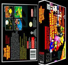 Super Mario RPG Legend of Seven Stars - SNES Reproduction Art Case/Box No Game.