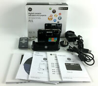 GE PJ1 Digital Camera w/Built In PICO Projector - Black