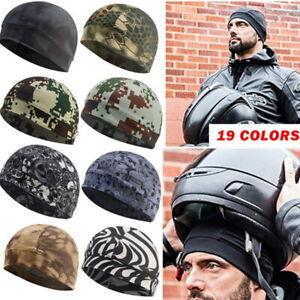Balaclava Mask Warm Army Ski Bike Hat Under Helmet Cap Hunting Outdoor Camo Hat,