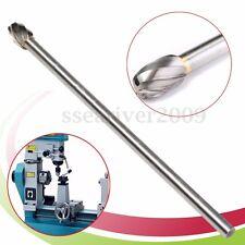 """6"""" Long 10mm Dia Head Tungsten Carbide Aluminum Cut Rotary Burr Burs 1/4'' Shank"""