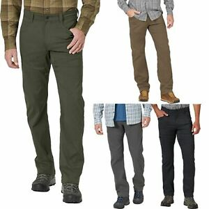 Wrangler Mens Water Repellent Super Stretch Relaxed Cargo Combat Trousers Pant