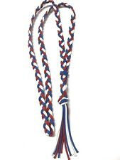 Neck Rope Bridleless Riding Horse Tack Red White And Blue Neck Rope