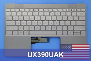 Asus Official UX390UAK Grey with Gold Backlight laptop keyboard for ZenBook